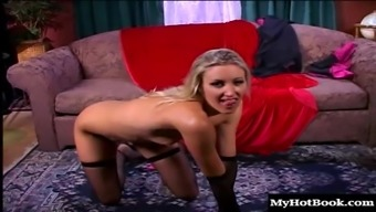 Impish Blond Prostitute Seraph Gets Her Orgasmic Pink Slit Crushed Very Difficult