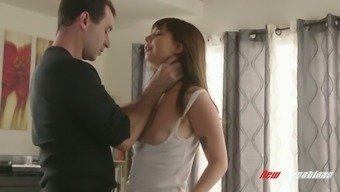 Appealing Teenager Is Fucked By Effectively Gifted Fucker James Deen