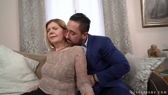 Old And Wrinkly Horrible Age Vagabond Samantha Gets Her Senior Clit Fucked Christian Missionary