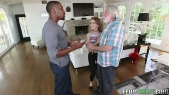 Large Cringe Garden Hose Gets In Cunt Of Fairly Heated Petite Blond Alina East