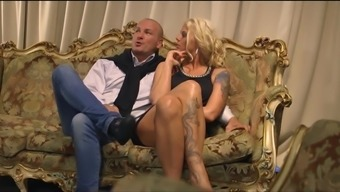 Enticing Girl Jarushka Ross And Her Good Friend Enjoy With A Cock