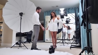 Blessed With Good Luck Man And Lastly Meetings Warm Ariana Marie Into Fucking With Him