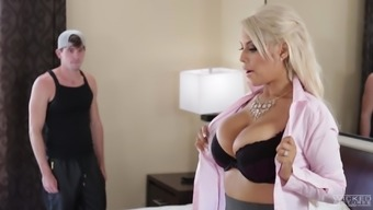 Bridgette B Is Basically A Busty Brown That Loves Bouncing Throughout The Penile Organ