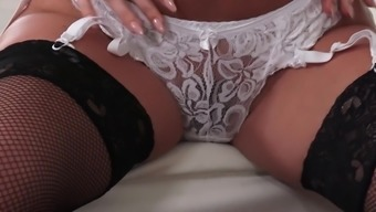 Heated Blonde Brittany Shae Treasures Whenever Friend Cums In Her Own Pussy