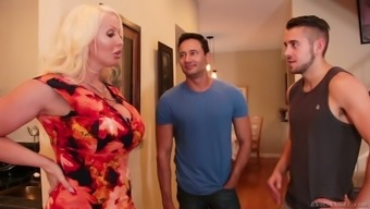 A Number Of Wild Environment Bisexual Mmf Threesome More Of The Like Gonna Result From Alura Jenson