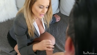 Buxom Appealing Milf Corinna Blake Is Titjob Teacher Without Ever Fears