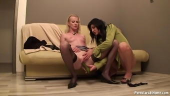 Natural Environment Girls Escape A Cucumber And Double Fuck It