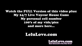 Lelu Love-Webcam: Bath Becomes Pregnant Belly Oiling