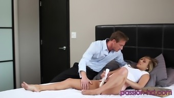 Damaging Kennedy Leigh Over For Some Wild Pussy Fucking