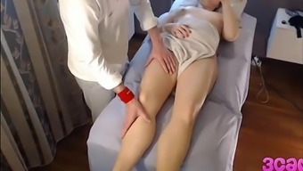 Concealed Cam At Massage Therapy Parlour Anal Passage Make Use Of The
