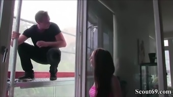 Skinny The German Language Young Adult Seduce To Really Fuck By Window Fresher