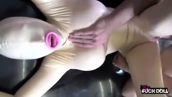 Realfuckdoll Releasing Rubber Baby Doll