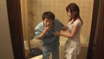 Sizzling Misaki Aso And Her Attractive Close Friend Have The Ability To Please A Penis