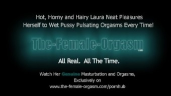 Hirsuite School Girl Masturbates Her Dripping Wet Pussy To Effectively Agonizing Orgasms