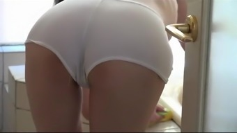 Hot Asian Milf Interests To Scrub Her Stepson Pt1