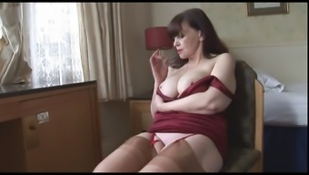 Large Tits Age Milf Enhance Complete Panties Stockings And