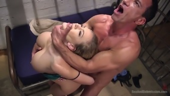 Delectable Great Breasted Splendor Kagney Linn Karter Gets Hammered By Naughty Bf