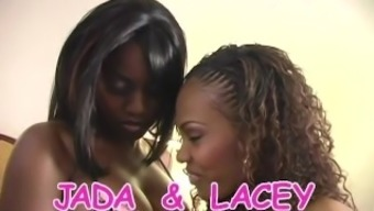 Jada Fire And Lacey Duvalle