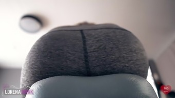 Peak On Exercise Bike In Qi Gong Pants Ass Examine Heart Rate