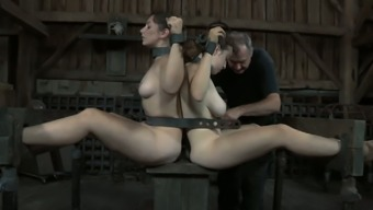 Dixon Mason And Her Partner Are Chained Jointly
