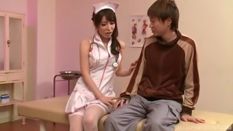 Japanese People Baby Kazama Yumi You Like A Pal By Twiddling With His Penis