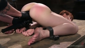 Beautiful Red Colored Haired Prostitute Alexa Nova Gets Her Twat Dealt With