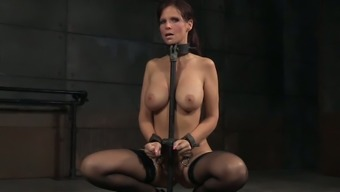 Submissive And Big Tits Blond Housewife Chained And Facefucked