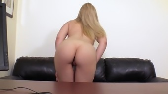 Gorgeous Blond Bones Chromatic Amber-Gold Appreciates It Anytime Close Friend Fucks Her Brushed Pussy