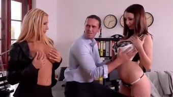 Lucie Wilde And Kyra Hot Threesome (Part 1) Watch Full Video On: Http:Bigtittyvideos.Com