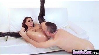 Immersed Anus Intercourse On Tape By Using Great Plus Sized Stupid Ass Perverted Krown (Eva Angelina) Vid-21