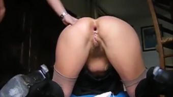 Wife Gets Her Asshole Fisted