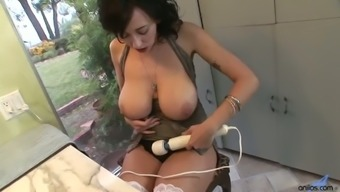 Torrid Black Haired Milf Alia Janine Is Ready To Use Buzzing Vibrator For Her Twat