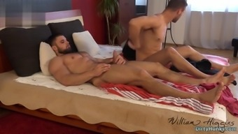 Muscle Bodybuilder Anal Sex With Cumshot