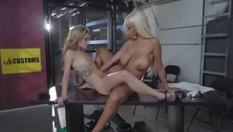 Bridgette B Shares Passion With Nude Kali Roses