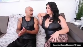 Full-Figured Cuban Angelina Castro &Amp; Bbc Get Sara Jay To Effectively Provide!