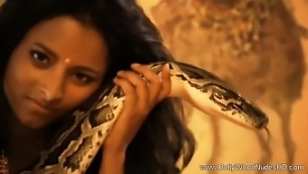 Slithering Sensuality From Exotic India
