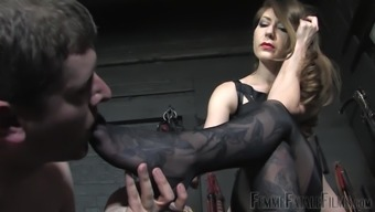 Foot Fetish Before Anything Else Is Very Welcome For Dominant Miss Alex
