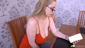 Immersed Cleavage Of Malicious Secretary Rachael C Is Most Importantly Reward