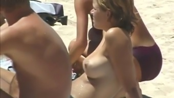 These Beauties Look Hotter Topless And They Love Sunbathing