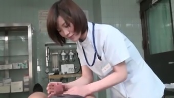 Subtitled Cfnm Japanese People Ladies Medical Professional Gives Affected Person Handjob
