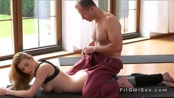 Qi Gong Educate Cracks Blonde From Behind