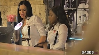 Quickie Sex At Work For Curvy Latina Anissa Kate Wearing Long Heels