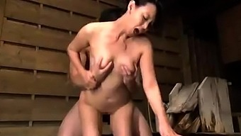 Japanese People Far Eastern Grow Older Delivering Blowjob To Effectively Blessed Guy